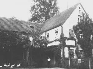 Bäckerei- und Hausansicht von 1936 - Foto: Privatbesitz Fischer