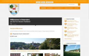 2018 - Homepage dietersdorf.de