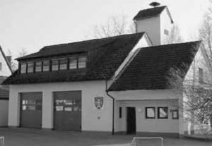 Feuerwehrhaus - Foto: G. Pfaffenritter