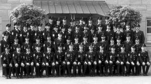 Gruppenbild Freiwillige Feuerwehr Dietersdorf 1999 - Foto: Archiv FFW