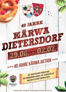 40 Jahre Kärwa Dietersdorf 2018