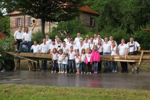 Dietersdorf Kärwaboum und Madli 2014