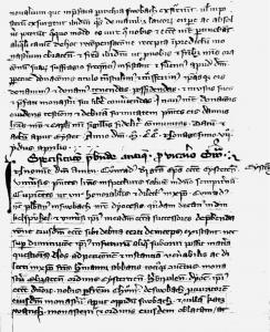 Urkundliche Erwähnung Dietersdorfs aus dem Jahre 1304 - Seite 20/links - Bayerische Staatsbibliothek München