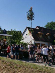 2018 - Kärwa Dietersdorf (RPS) - Kinderbaum steht