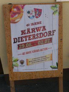 2018 - Kärwa Dietersdorf (RPS) - Plakat