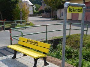 Mitfahrerbank von Dietersdorf nach Wolkersdorf