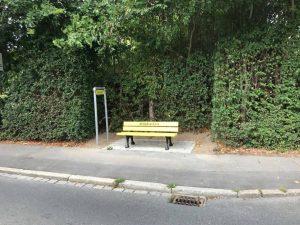 Mitfahrerbank von Wolkersdorf nach Dietersdorf