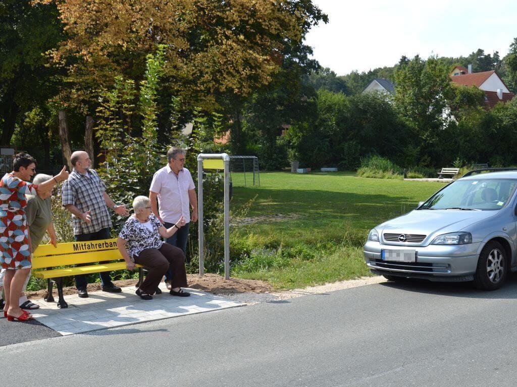 Mitfahrerbank Dietersdorf - Interessensgemeinschaft Dietersdorf