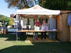 Weinfest Dietersdorf 2018 - Flammkuchen Verkaufsstand
