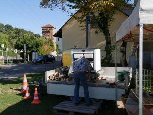 Weinfest Dietersdorf 2018 - Mobiler Holzofen