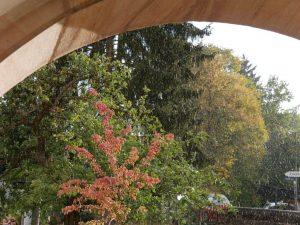 07.10.2018 - Gemeindefest Dietersdorf - Regenguss zum Ende