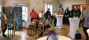 Viele Informationen und tolle Ideen gab es beim Neujahrsempfang des Dietersdorfer Gewerbes. Foto: Gewerbe Dietersdorf
