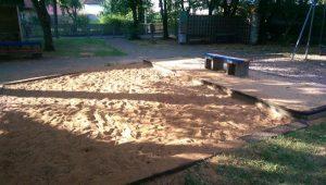 27.07.2018 - Spielplatz Dietersdorf (RPS) - Sandkasten