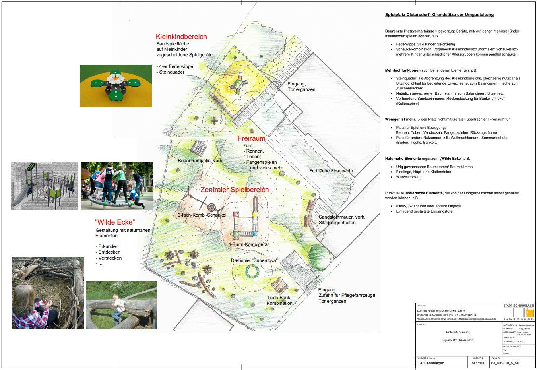 07.05.2019 Spielplatz Dietersdorf Entwurfsplanung - Stadt Schwabach