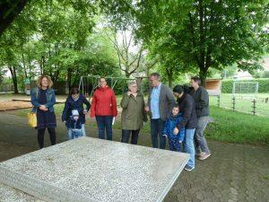 22.05.2019 – Spielplatz Dietersdorf – Vorort-Termin und Entwurfsplanung