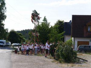 06.07.2019 - Kärwa Dietersdorf (RPS) - Kinderbaum