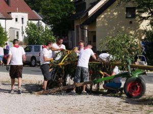 06.07.2019 - Kärwa Dietersdorf (RPS) - letzte Handgriffe