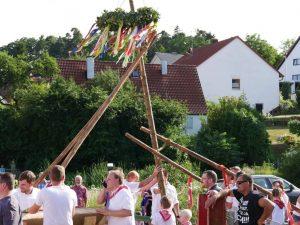 06.07.2019 - Kärwa Dietersdorf (RPS) - Baum