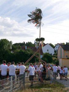06.07.2019 - Kärwa Dietersdorf (RPS) - Steht!