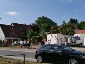 06.07.2019 - Kärwa Dietersdorf (RPS) - Kärwabaum