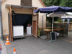 27.07.2019 Familienfest (RPS) - Flammkuchen-Küche