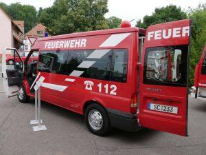 27.07.2019 Familienfest (RPS) - Mehrzweckfahrzeug Ford Transit