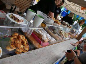 27.07.2019 Familienfest (RPS) - Essens und Kuchen Spenden für den Spielplatz Dietersdorf