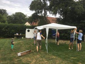 27.07.2019 Familienfest (CaS) - Dank an die vielen Helfer bei der Vorbereitung