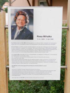 27.07.2019 - Gedenken an Rosa Mihalka (RPS)
