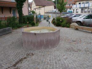 27.07.2019 - Rosa-Mihalka-Platz Dietersdorf - Brunnen (RPS)