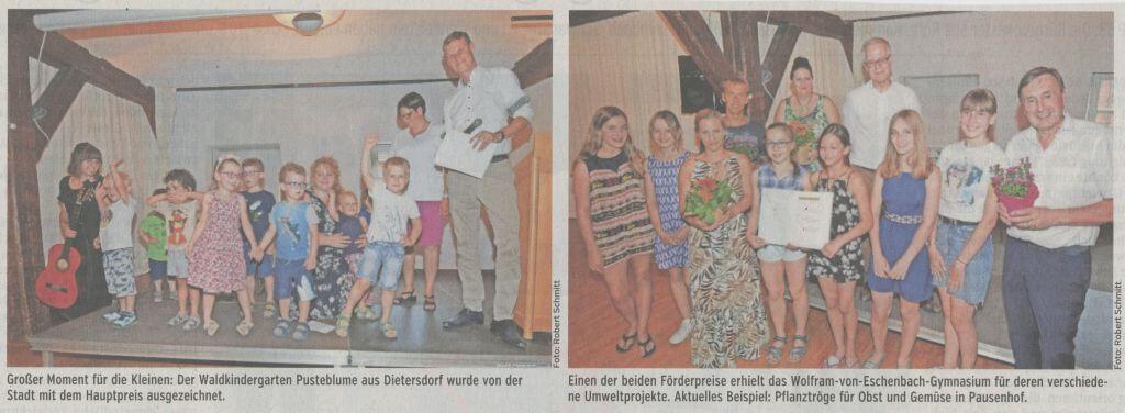 27.07.2019 - Nachhaltigkeit in fünf Varianten - Schwabacher Tagblatt