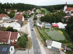 06.07.2019 - Kärwa Dietersdorf (Jochen Steffan) - Festplatz von oben