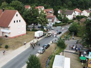 06.07.2019 - Kärwa Dietersdorf (Jochen Steffan) - Der Kärwa-Baum kommt