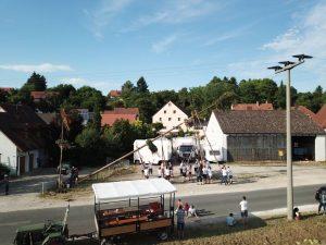 06.07.2019 - Kärwa Dietersdorf (Jochen Steffan) - Baum aufstellen