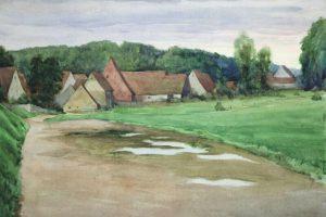 17.09.1950 - Nach dem Regen - Maler Müller Nürnberg