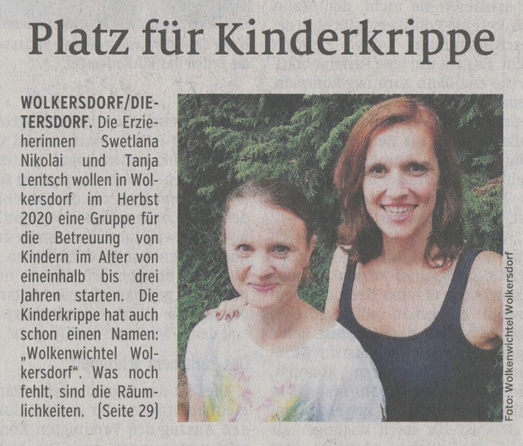 13.09.2019 - Platz für Kinderkrippe - Schwabacher Tagblatt