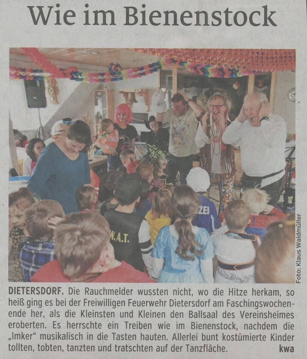 26.02.2020 - Wie im Bienenstock - Schwabacher Tagblatt