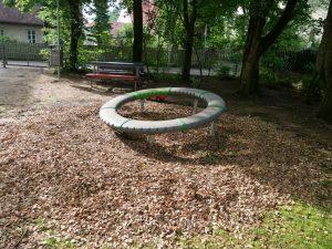 27.06.2021 - Spielplatz Dietersdorf (RPS) - Drehspiel Super Nova